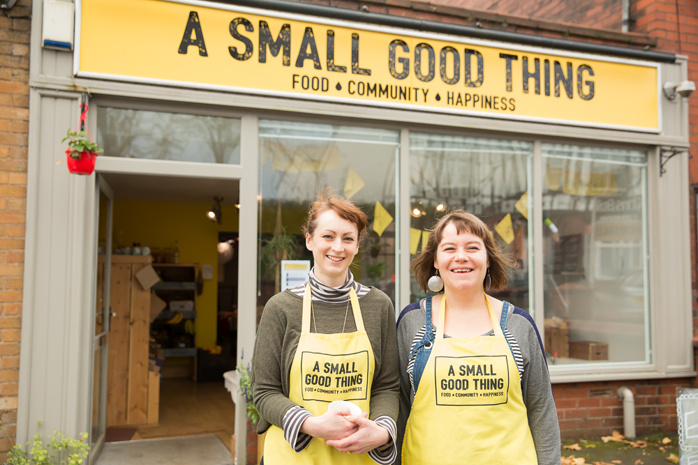 Spotlight On Local Businesses – A Small Good Thing – Bolton