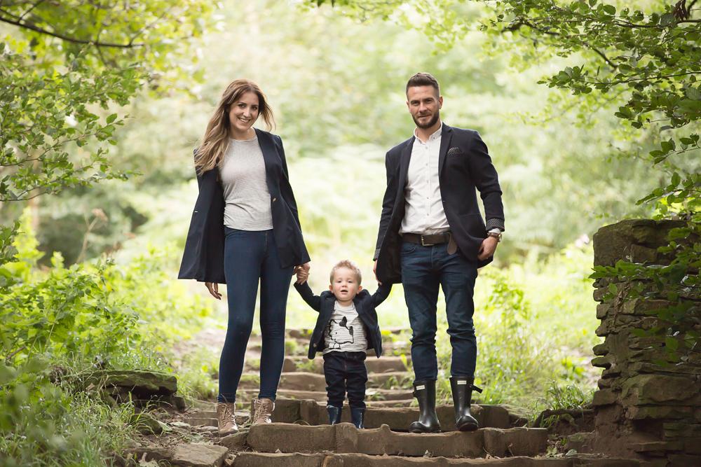 Family Photoshoot – Roddlesworth Woods, Tockholes – Late Summer