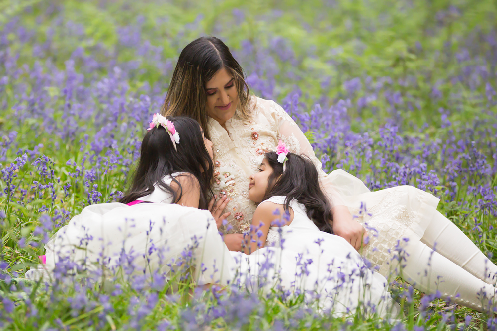 Family Shoot – Bluebells in Roddlesworth Woods, Tockholes – 18/05/2019
