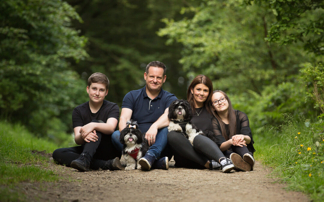 Family Shoot – Roddlesworth Woods, Tockholes 22/06/2019