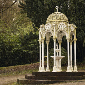 Catlow Fountain in Whitehall Park, Darwen
