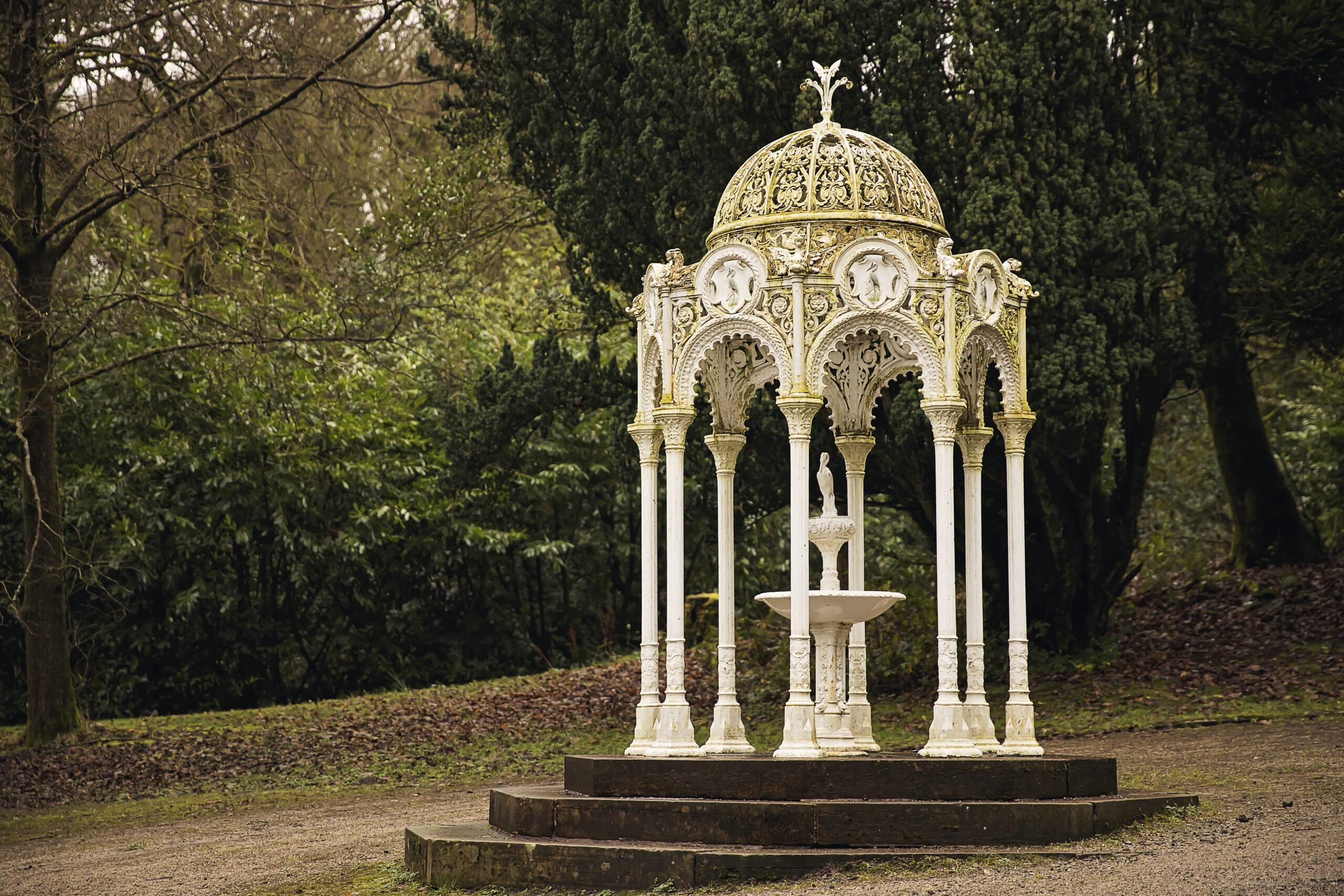 Catlow Fountain in Whitehall Park, Darwen