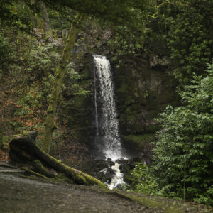 Waterfall in Bold Venture Park, Darwen